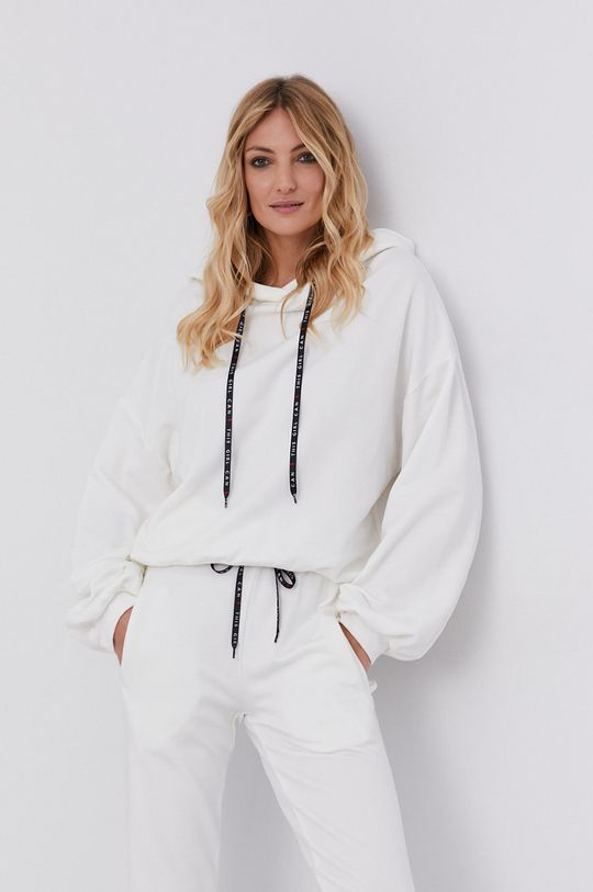 answear.LAB X Paulina Krupińska Bluza z certyfikatem OEKO-TEX kolekcja limitowana Ethical Wardrobe kremowy