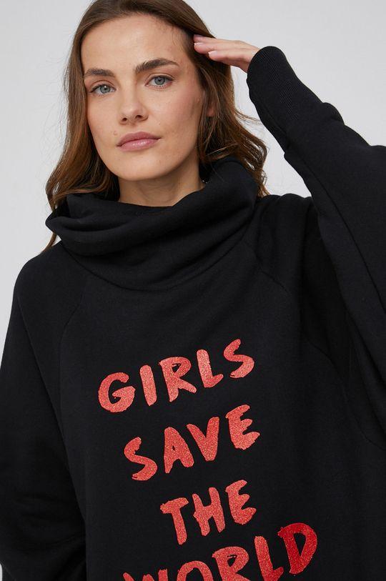 czarny Bluza answear.LAB X kolekcja limitowana GIRL POWER
