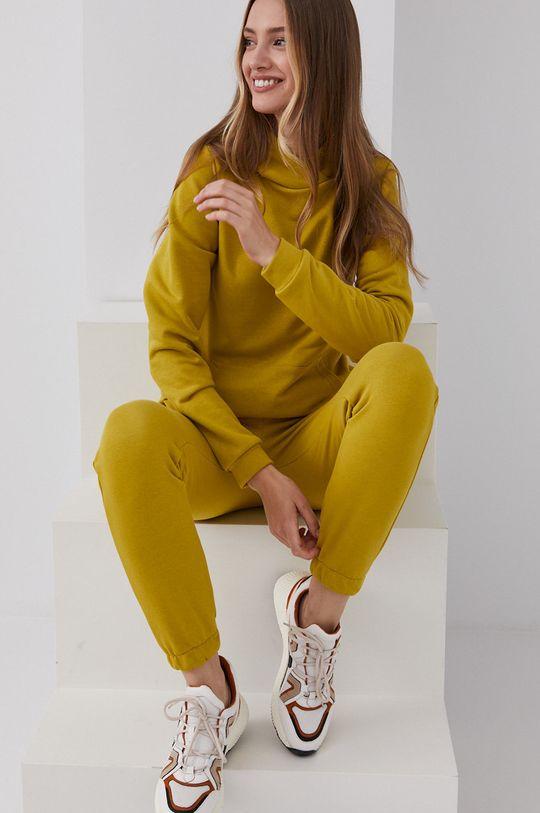 Answear Lab - Dres jasny oliwkowy
