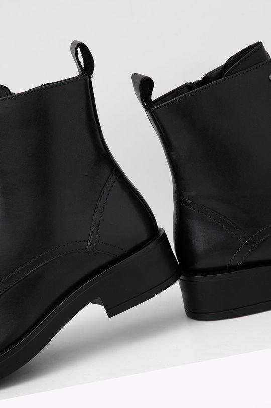 Answear Lab - Cizme de piele  Gamba: Piele naturala Talpa: Material sintetic