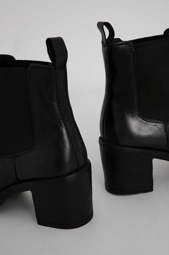 Answear Lab - Ghete Chelsea de piele  Gamba: Piele Interiorul: Material sintetic, Material textil Talpa: Material sintetic