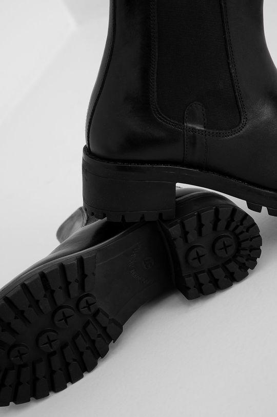 negru Answear Lab - Ghete Chelsea de piele