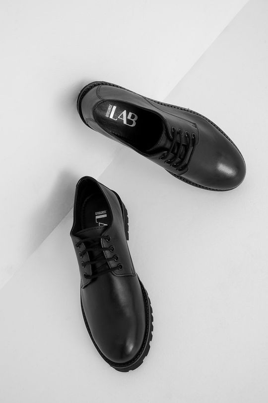 Answear Lab - Pantofi de piele negru