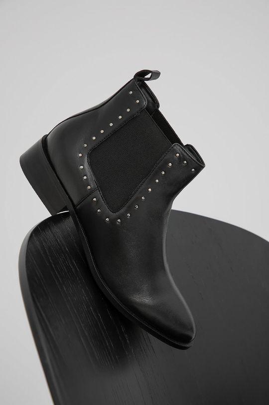 negru Answear Lab - Ghete Chelsea de piele De femei