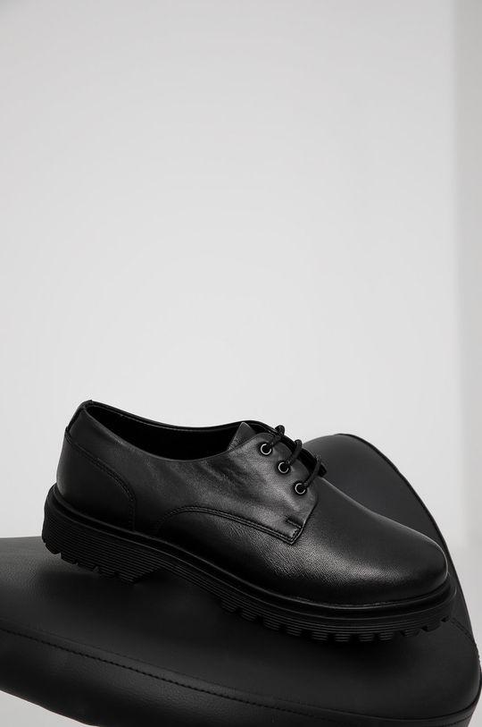 negru Answear Lab - Pantofi de piele De femei