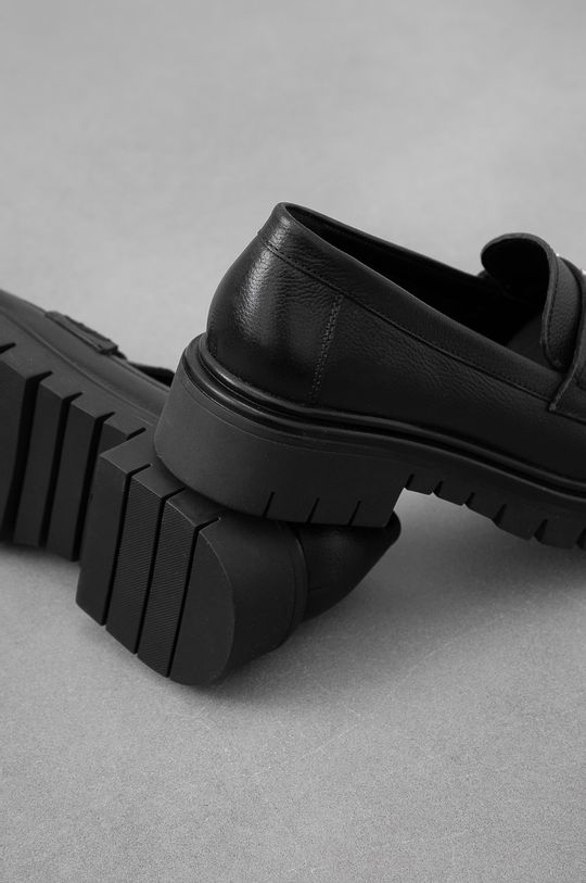 negru Answear Lab - Mocasini de piele