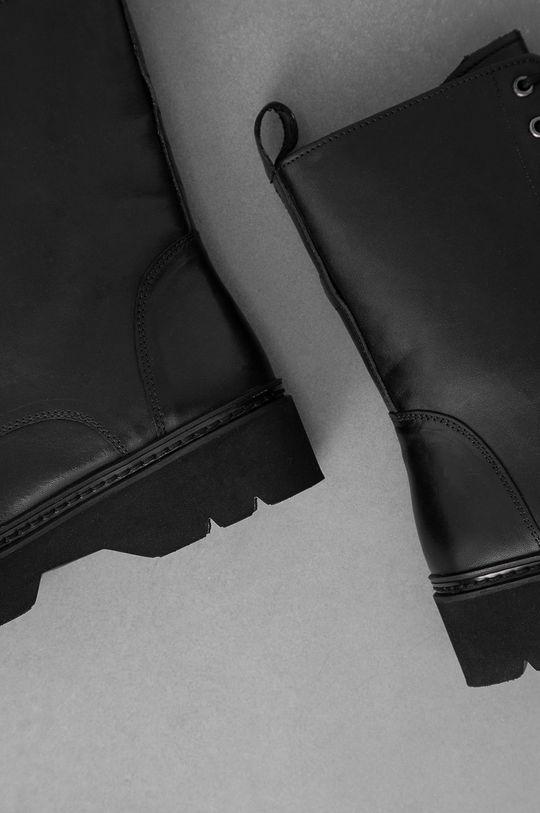 Answear Lab - Cizme de piele  Gamba: Piele naturala Interiorul: Material sintetic, Material textil Talpa: Material sintetic