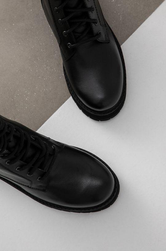 negru Answear Lab - Bocanci de piele