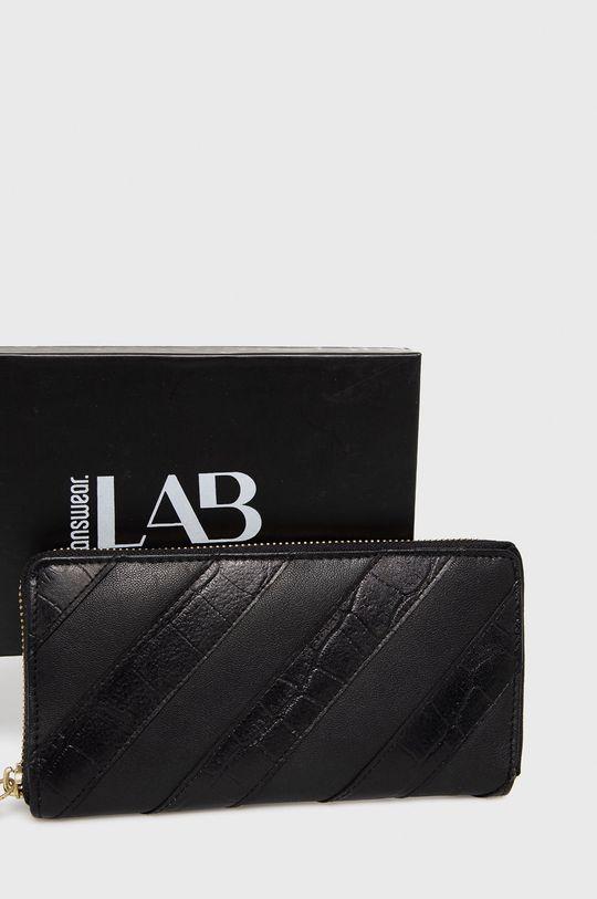 czarny Answear Lab - Portfel skórzany