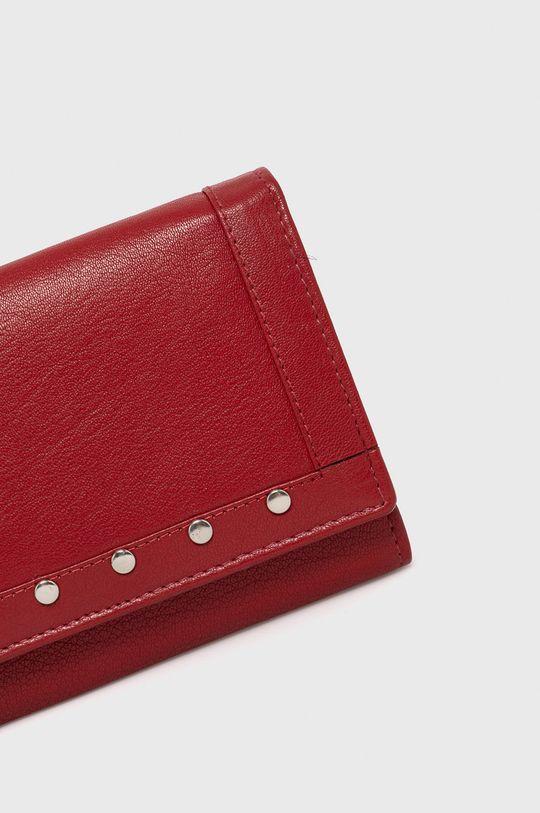 czerwony Answear Lab - Portfel skórzany