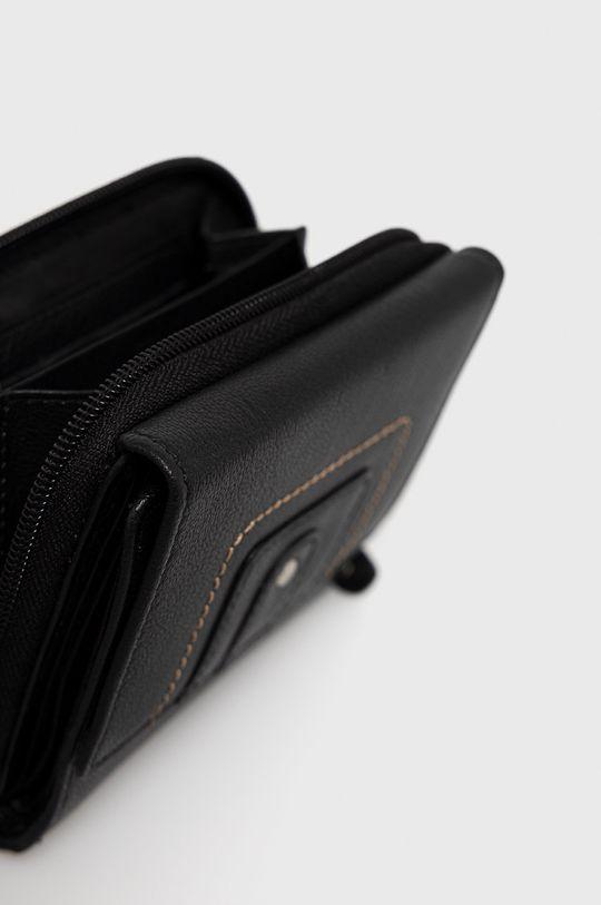 Answear Lab - Kožená peňaženka  100% Prírodná koža