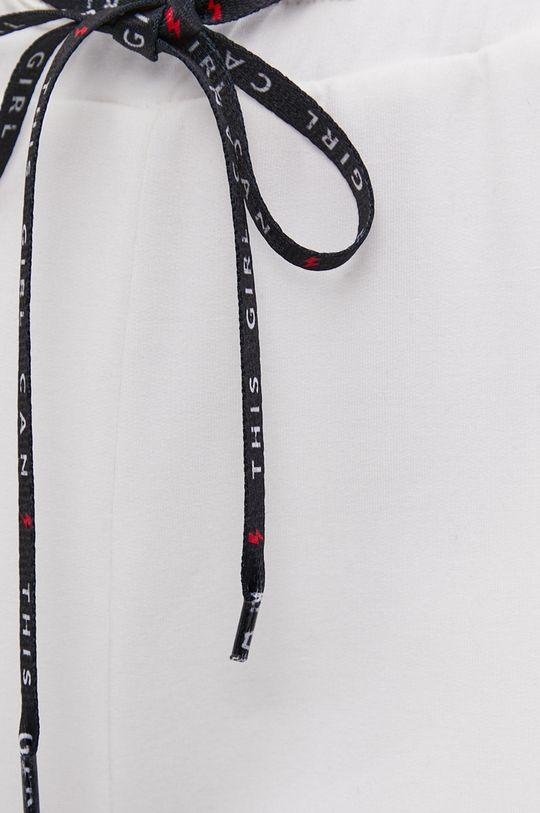 kremowy Spodnie answear.LAB X kolekcja limitowana GIRL POWER, CERTYFIKAT OEKO-TEX i GOTS
