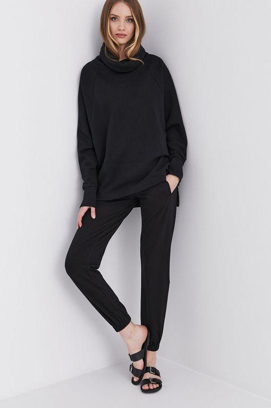 answear.LAB Kalhoty s certifikátem OEKO limitovaná kolekce Ethical Wardrobe černá