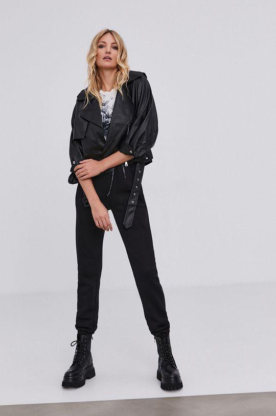 Spodnie answear.LAB X kolekcja limitowana GIRL POWER, CERTYFIKAT OEKO-TEX i GOTS czarny