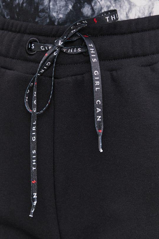 czarny Spodnie answear.LAB X kolekcja limitowana GIRL POWER, CERTYFIKAT OEKO-TEX i GOTS