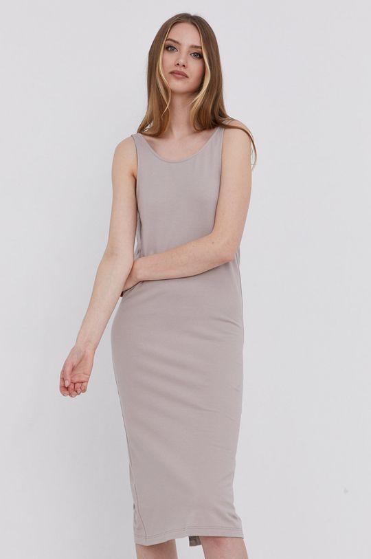 answear.LAB Šaty s certifikátem OEKO limitovaná kolekce Ethical Wardrobe <p>  4% Elastan, 96% Bio bavlna</p>