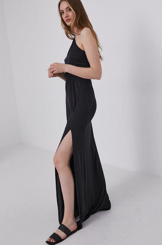 černá answear.LAB Šaty s certifikátem OEKO limitovaná kolekce Ethical Wardrobe