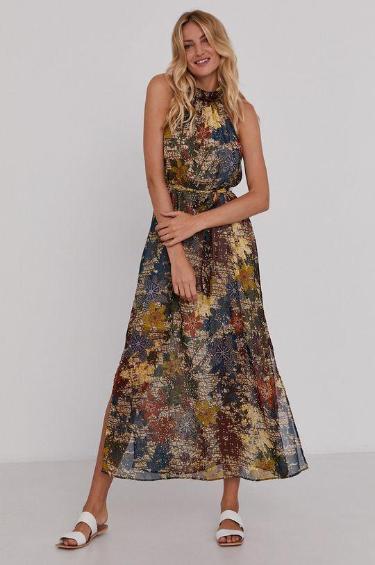Answear Lab - Sukienka multicolor