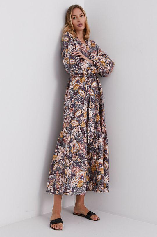Answear Lab - Sukienka 98 % Bawełna, 2 % Elastan