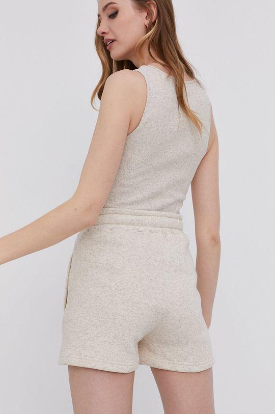 answear.LAB - Šortky s certifikátom OEKO. Limitovaná kolekcia Ethical Wardrobe  50% Konope, 50% Bio Bavlna
