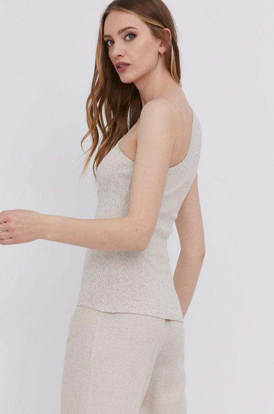 answear.LAB Top s certifikátem OEKO limitovaná kolekce Ethical Wardrobe <p>  40% Bavlna, 10% Elastan, 10% Konopí, 40% Bio bavlna</p>