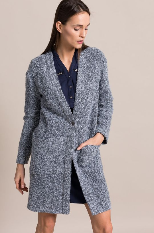 modrá Answear - Kabát No Angel Dámsky