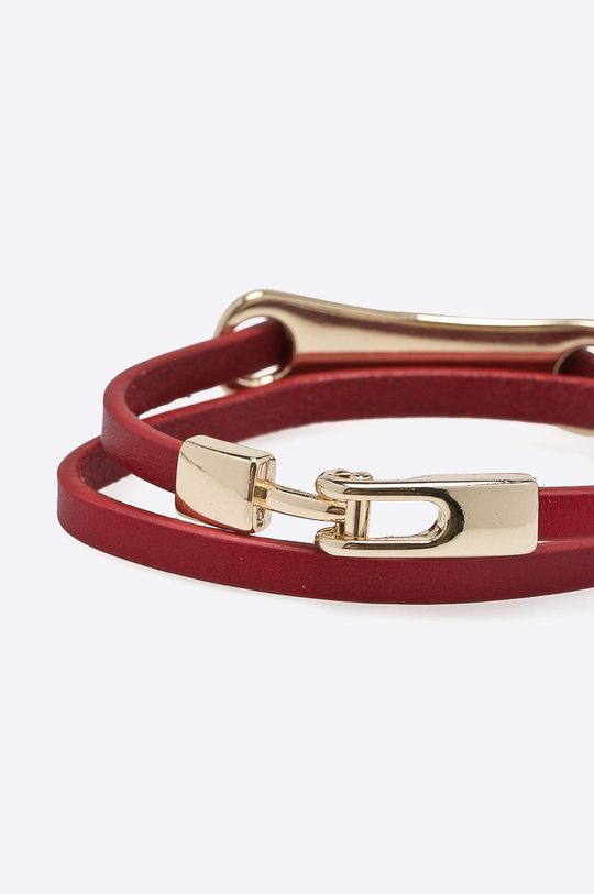 Answear - Kožený náramok červená