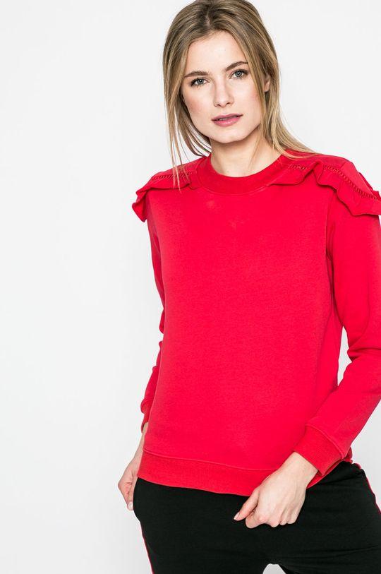 červená Answear - Mikina Sporty Fusion Dámsky