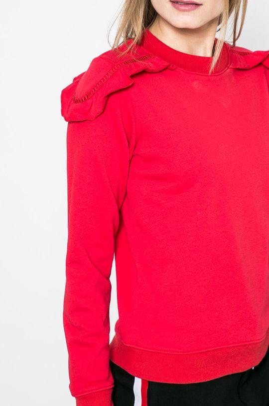 červená Answear - Mikina Sporty Fusion
