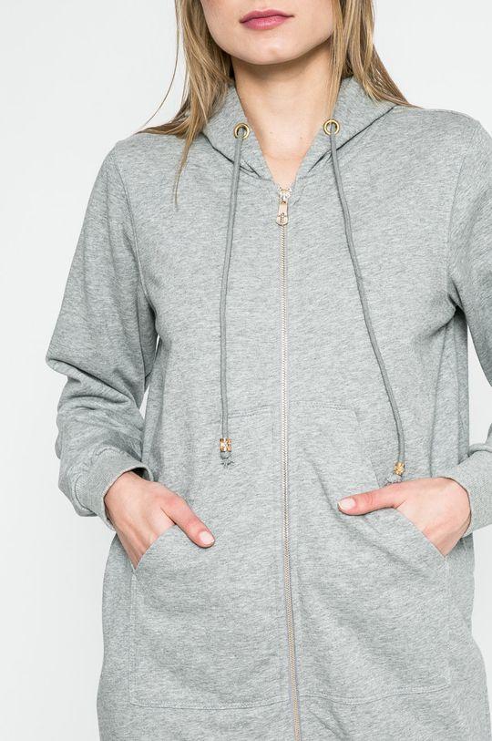 sivá Answear - Mikina Sporty Fusion