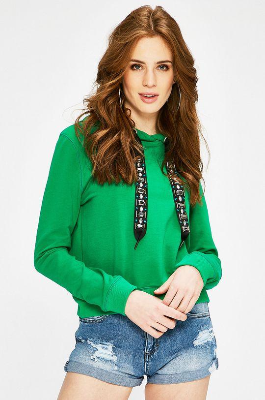 zelená Answear - Mikina