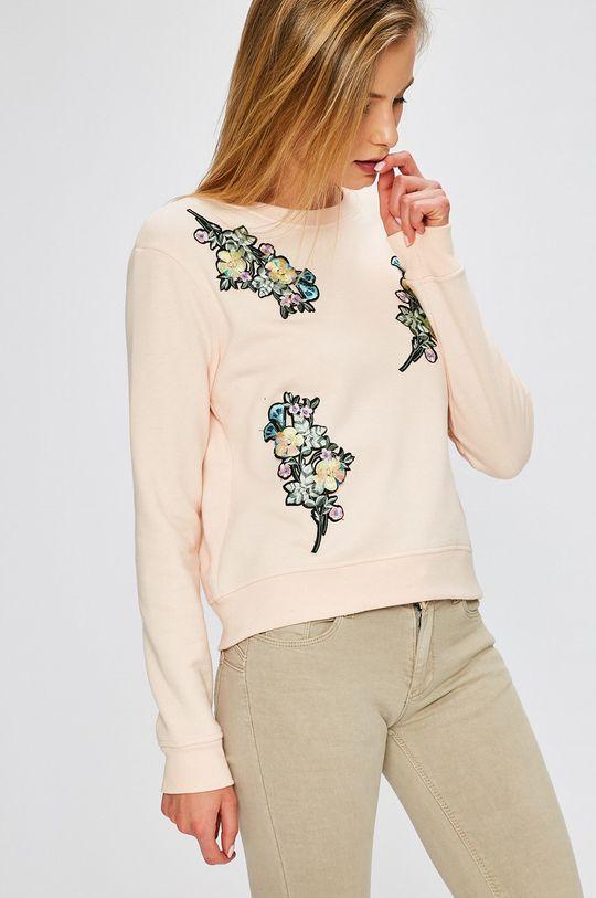 pastelová ružová Answear - Mikina Garden of Dreams Dámsky