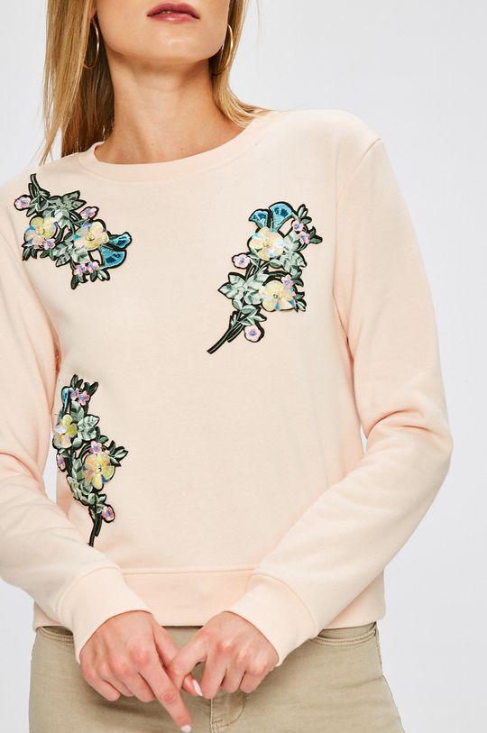 pastelová ružová Answear - Mikina Garden of Dreams
