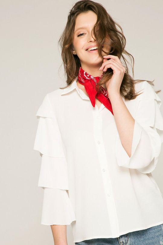 biela Answear - Blúzka Stripes Vibes Dámsky