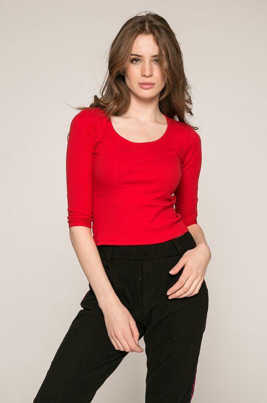 červená Answear - Blúzka Dámsky