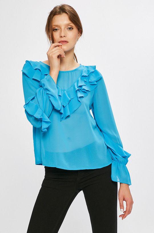 albastru Answear - Bluza De femei