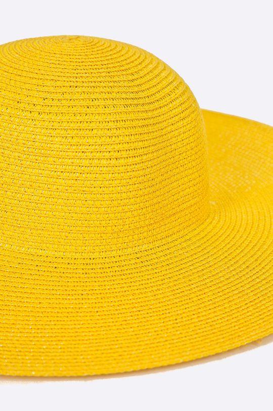 Answear - Klobúk Boho Bandit žltá