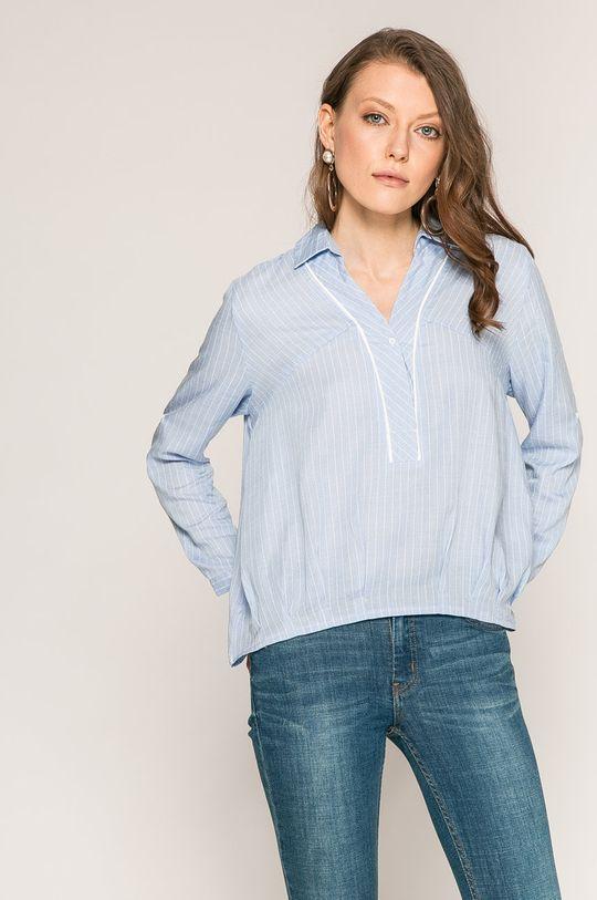 niebieski Answear Lab - Bluzka Yasmine Damski