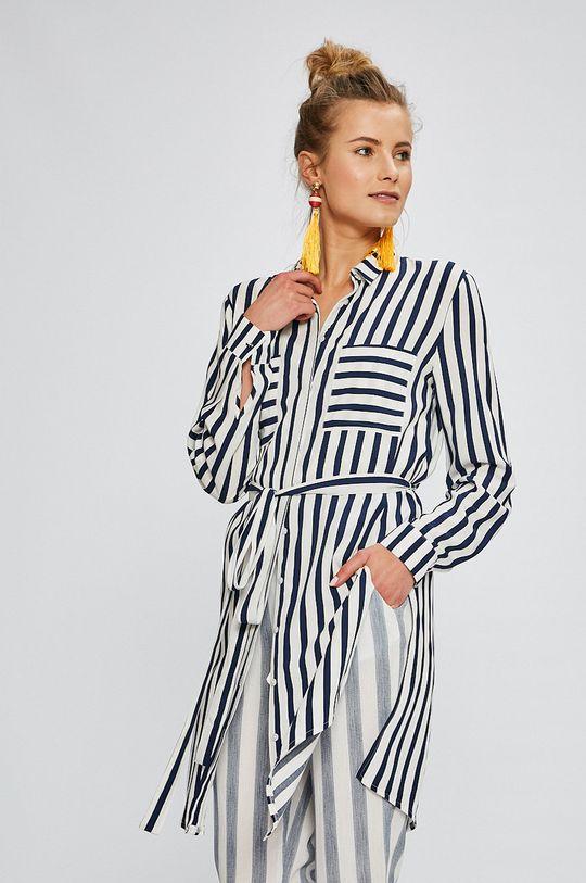 Answear - Košeľa Stripes Vibes krémová