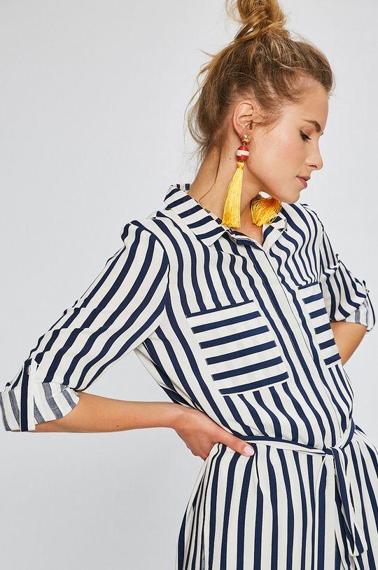 krémová Answear - Košeľa Stripes Vibes