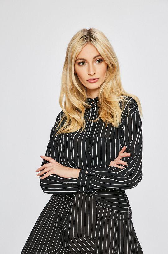 čierna Answear - Košeľa Stripes Vibes Dámsky