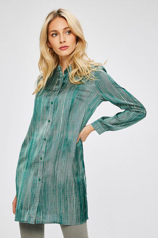 zelená Answear - Košeľa Stripes Vibes Dámsky