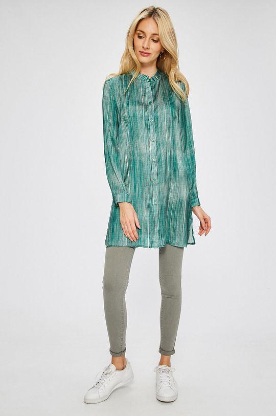 Answear - Košeľa Stripes Vibes zelená