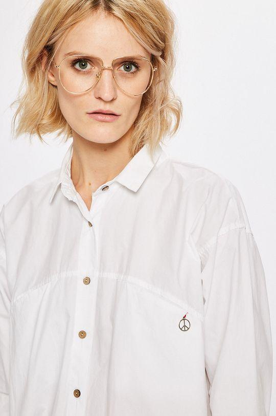 Answear - Košeľa Stripes Vibes biela