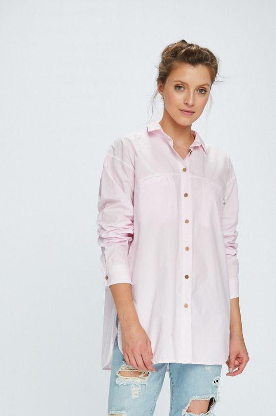 ružová Answear - Košeľa Stripes Vibes Dámsky
