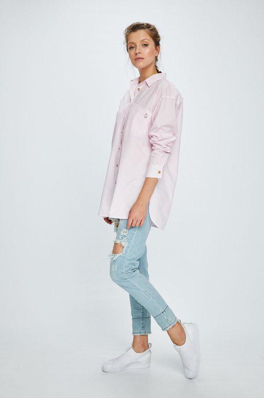 Answear - Košeľa Stripes Vibes ružová