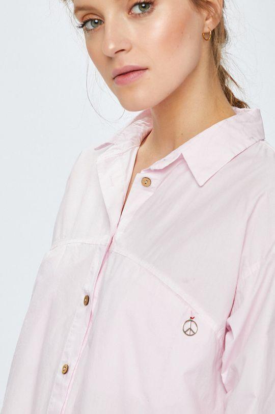 ružová Answear - Košeľa Stripes Vibes