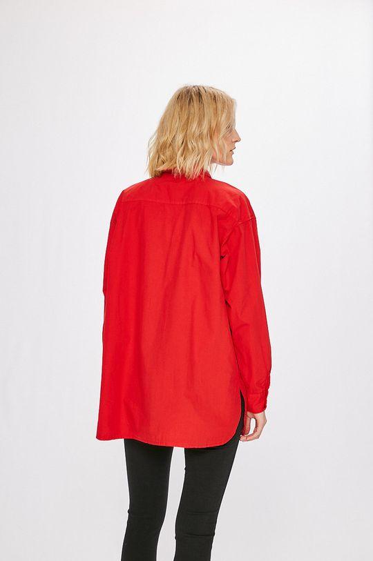 červená Answear - Košeľa Stripes Vibes