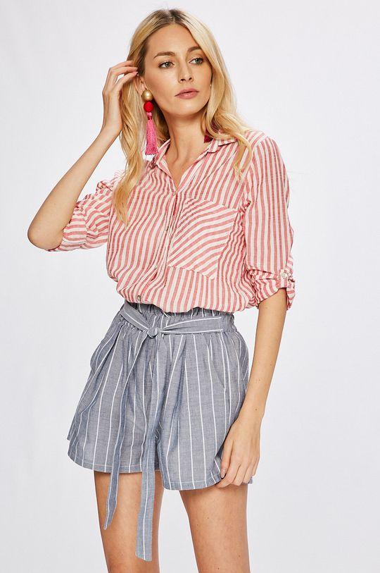červená Answear - Košeľa Stripes Vibes Dámsky