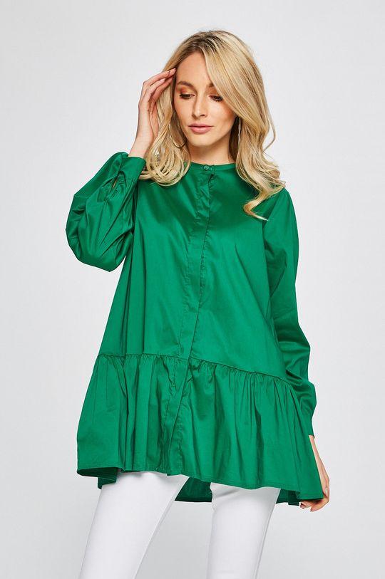 zelená Answear - Košeľa Dámsky